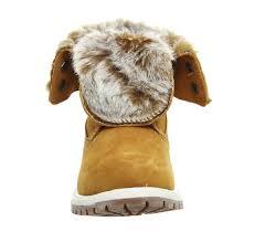 womens timberland boots size 9 timberland wheat nubuck womens boots fur fold womens 2017