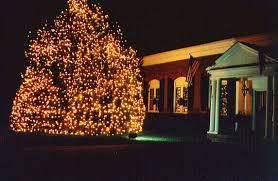 the official lighting of christmas town usa
