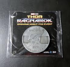 thor ragnarok opening night fan event marvel thor ragnarok opening night fan event collectible coin and 44