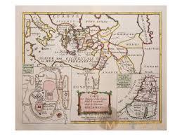 Judea Map Antique Map Of Jerusalem Judea Macedonia Syria By De La Porte