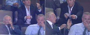 Jerry Jones Memes - cowboys to introduce jerry wipes so we can all be like owner