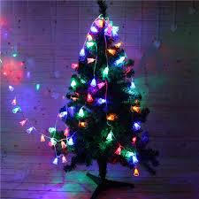 small christmas lights battery operated 8m 50 led small bell string light wedding party decoration christmas