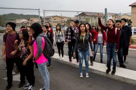 rubidoux high school yearbook rubidoux high teachers social media posts spark renewed walkout