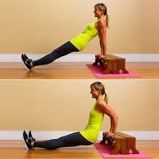Triceps Bench Dips Triceps Dip Bench Or Chair Cameron Diaz Workout To Do At Home