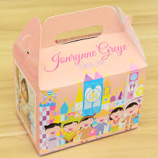 personalized box it s a small world themed personalized favor boxes gift boxes