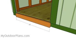 How To Build A Wooden Shed Ramp by Shed Ramp Plans Myoutdoorplans Free Woodworking Plans And