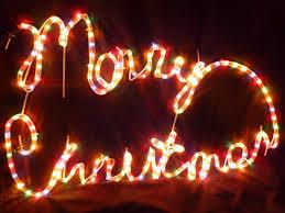 rope light merry multi coloured led lights large 75cm