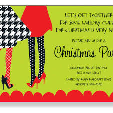 Get Together Party Invitation Card Holiday Party Invite Wording Dancemomsinfo Com