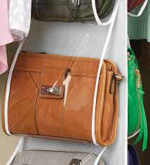 whitmor 6044 14 purse organizer rack clear amazon ca home u0026 kitchen