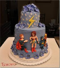 spectacular superhero wedding cake between the pages