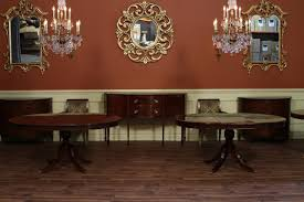 Dining Room Table With Leaf by 48 Round Dining Table With Leaf Round Mahogany Dining Table