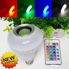 bluetooth music light bulb 2017 new bluetooth music speaker holiday led ball bulb audio spot
