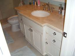 Pine Beadboard Paneling - custom hardwood vanity with bead board doors slab drawer fronts