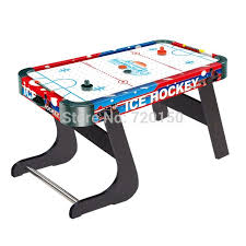 foldable air hockey table new sport game folding air hockey table standard sized ice hockey