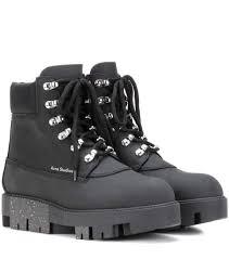 womens boots las vegas acne studios telde leather ankle boots black acne studios