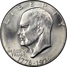 1776 to 1976 quarter dollar 1776 1976 d type 1 1 ms ike dollars ngc