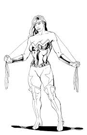wonder woman redesign inks by thelearningcurv on deviantart