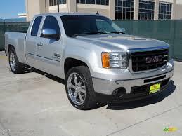 2011 pure silver metallic gmc sierra 1500 texas edition extended