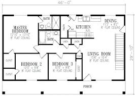 3 bedroom ranch house floor plans 1148 square 3 bedrooms 2 batrooms on 1 levels floor plan