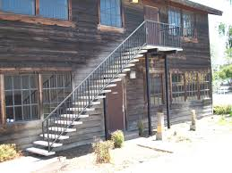 fresh exterior metal handrails for stairs good home design