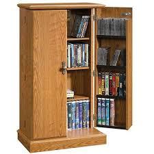 oak finish storage cabinet audio or video storage cabinet in oak finish 401349 sauder