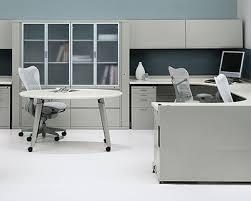 Herman Miller Reception Desk By Herman Miller