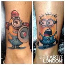 tato kartun minion kaelen lagasse maybe this love this one tattoo ideas pinterest