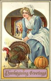 174 best thanksgiving vintage postcards images on