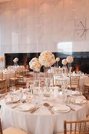gold cream and blush table decor