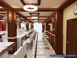 3d restaurant design by ovidenie valentin at coroflot com