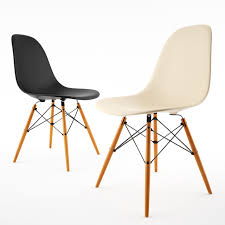 Famous Chair Designs by Here U0027s The Famous Side 3d Chair Model From Eames Plastic Chairs
