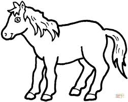 Pony Coloring Page Free Printable Coloring Pages Pony Color Page