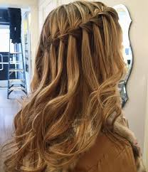 Frisuren Lange Haare Wasserfall by Wasserfall Frisur Bilder 3 Abiball Frisuren