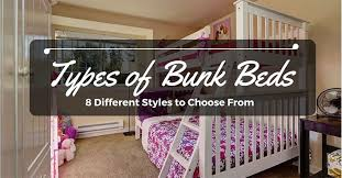 Types Of Bunk Beds Types Of Bunk Beds 8 Different Styles To Choose From