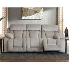 stricklin pebble power reclining sofa signature design furniture