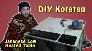 diy kotatsu from scrap wood and a cheap panel heater youtube