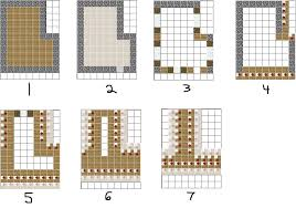 awesome inspiration ideas building blueprints for minecraft 8
