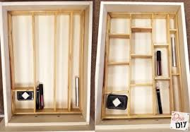 get organized with this wooden diy drawer organizer diva of diy