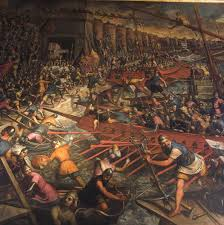 siege a 1204 constantinople siege painting by jacopo tintoretto