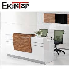 Esquire Glass Top Reception Desk Reception Desk Under 200 Muallimce