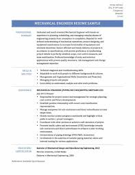 Resume Samples Experienced by Mechanical Engineering Resume Examples Sample Resume123