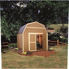 shop heartland rainier gambrel engineered wood storage shed