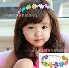Girls Cute Small Flower Headband Hair Accessories Kids Headwear