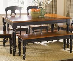 Oak Table With Windsor Back Chairs Furniture Low Country Black 6 Piece 58x38 Rectangular Dining Room