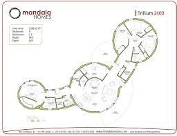 trillium series floor plans mandala homes prefab round homes