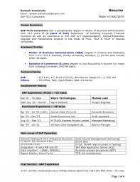 Sap Sd Resume Sample by Elegant Sap End User Resume Resume Format Web