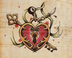 heart and key by o lilsweets o on deviantart