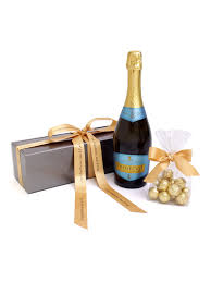 floric personalised prosecco wine u0026 chocolates house of fraser
