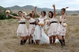 country style bridesmaid dresses diy country style summer wedding with the sweetest giving away