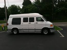 used dodge conversion vans sell used dodge 2001 explorer conversion in knoxville